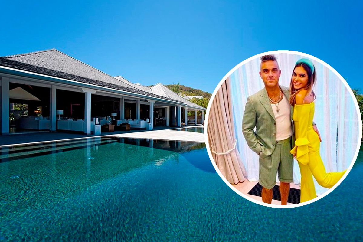 robbie williams st barts