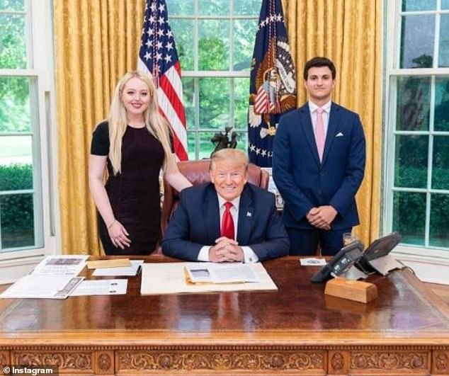 tiffany trump logodna