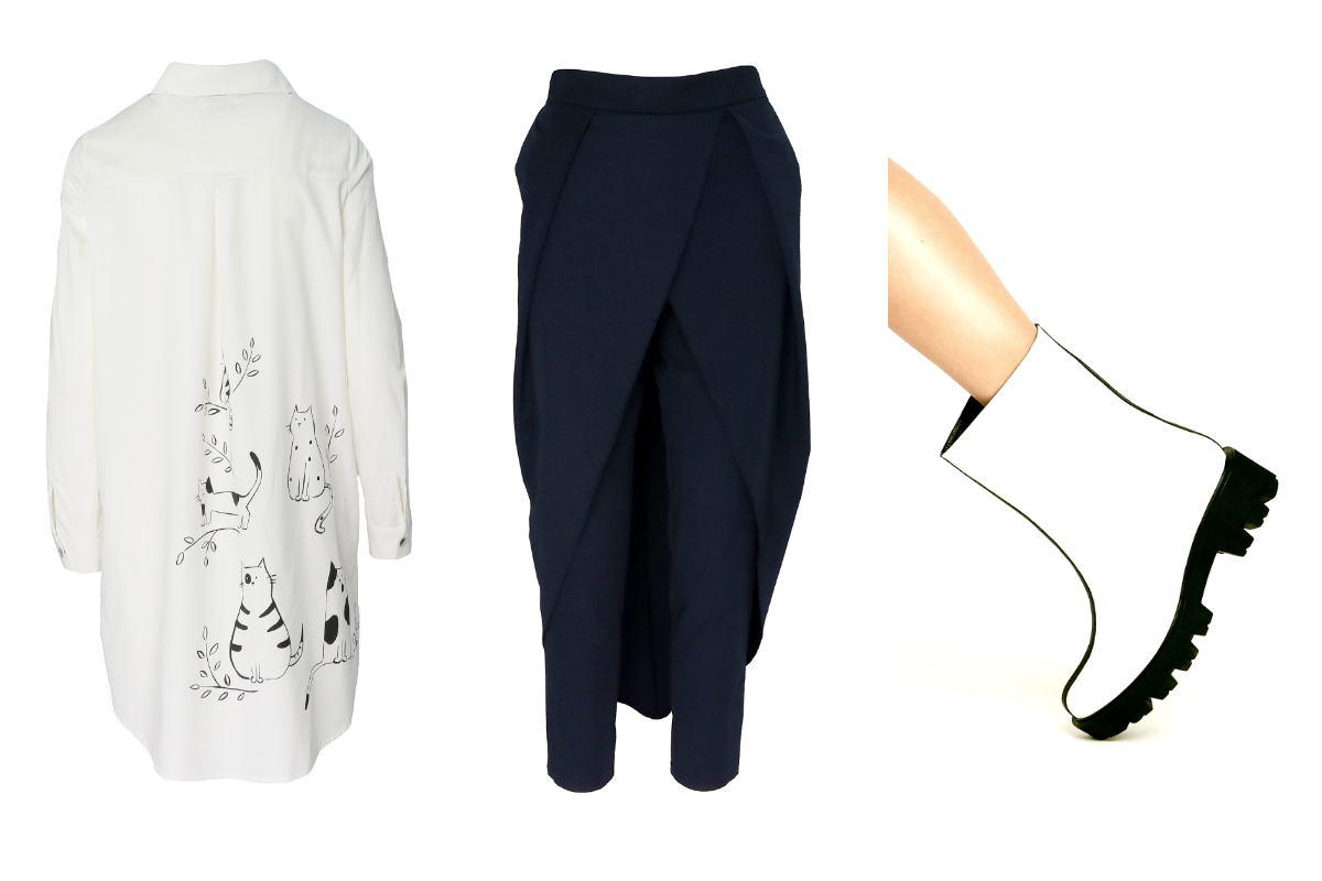 Alist Designers boutique- Alegerea fashion editorului - 5 piese black & white