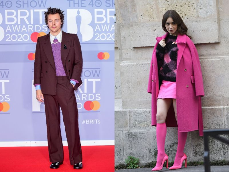harry styles lily collins