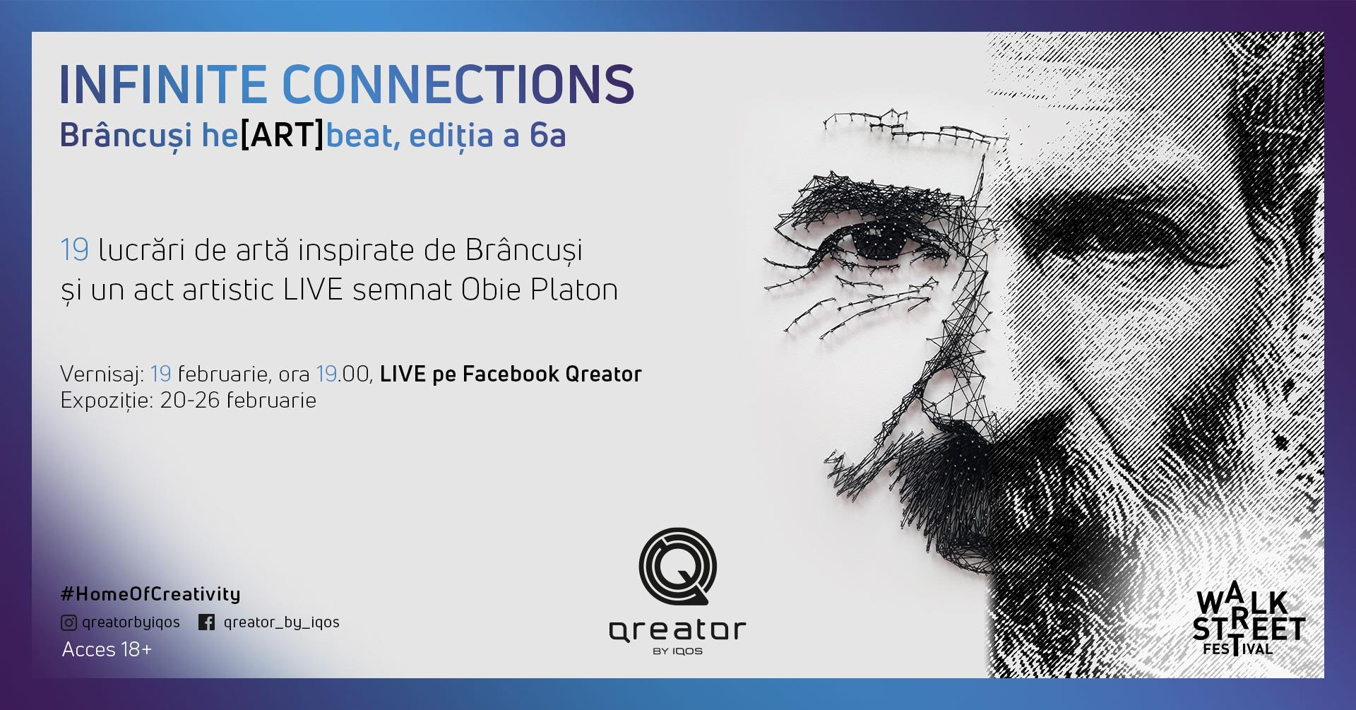 INFINITE CONNECTIONS-#Brâncuși he[ART]beat