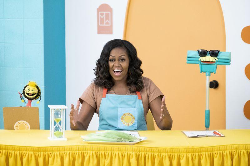 michelle obama waffles si mochi