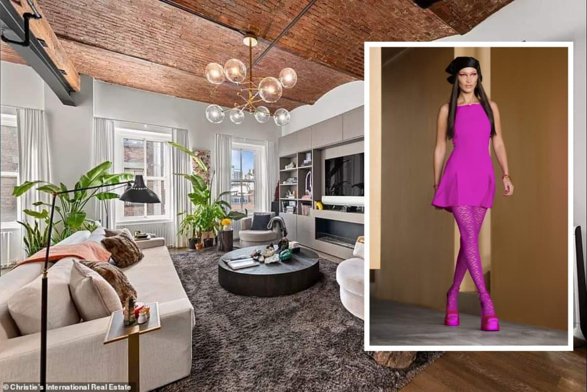 bella hadid apartament