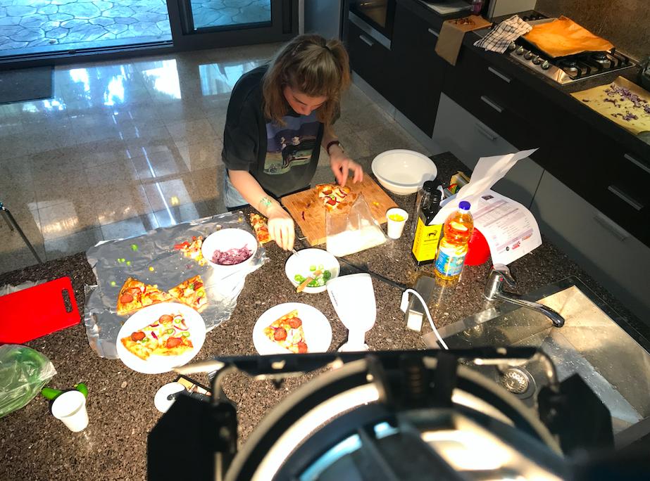 Claudia Neculae, food stylist