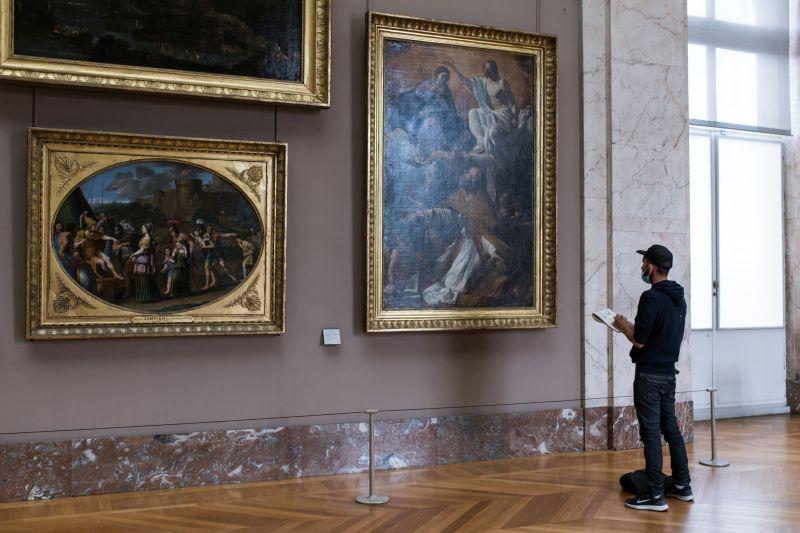 muzeul luvru online gratis