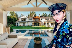 madonna casa hollywood hills
