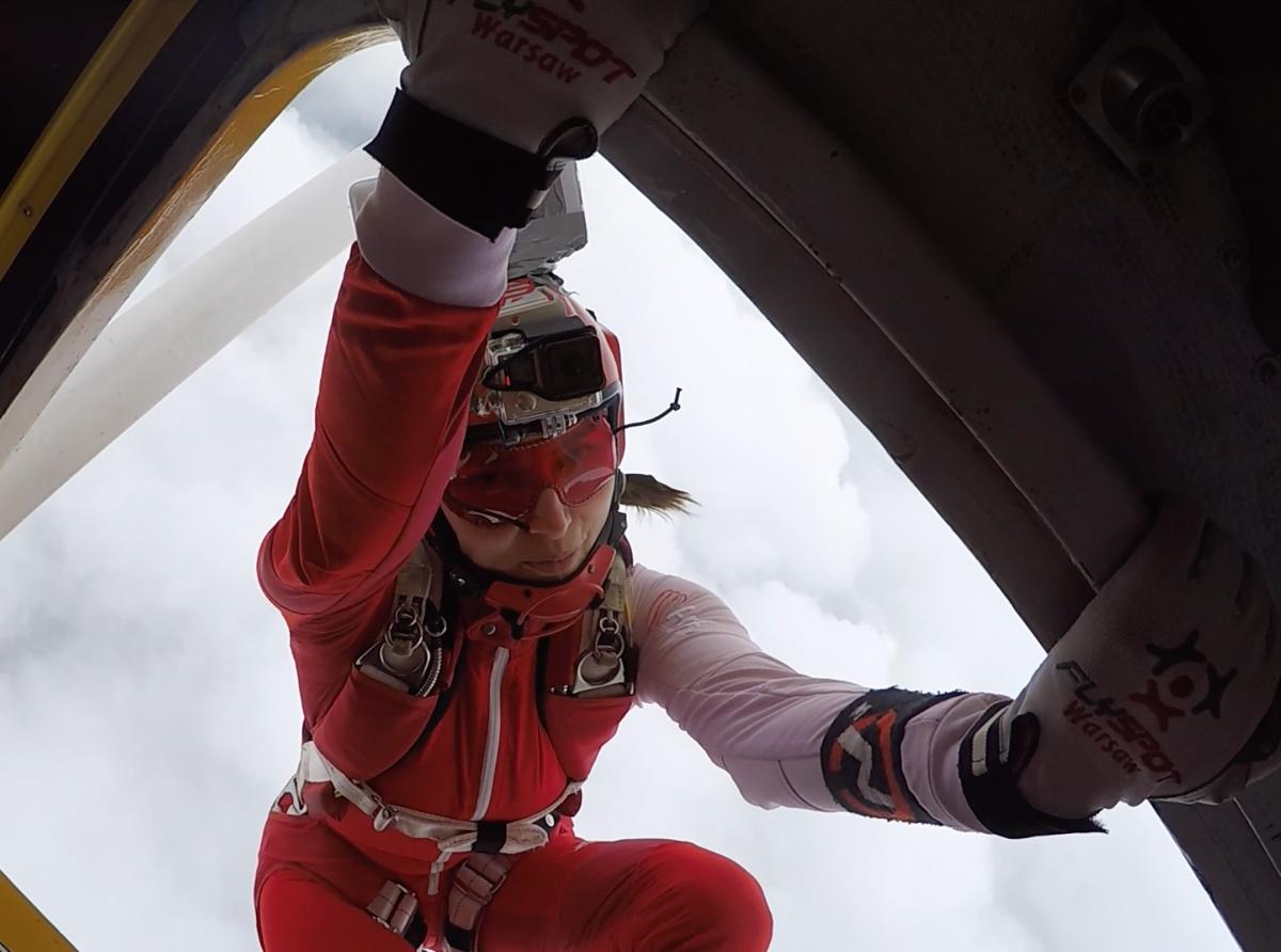 """Alina Sime: """"În parașutism nu avem gen, vârstă sau naționalitate"""""""