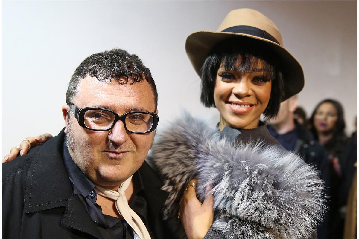 Alber Elbaz și Rihanna