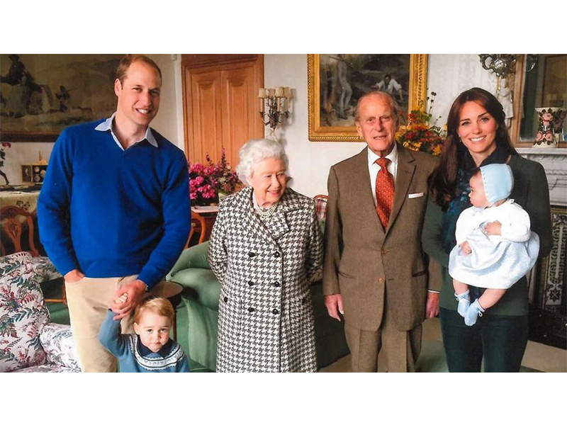foto regina elizabeta philip nepoti