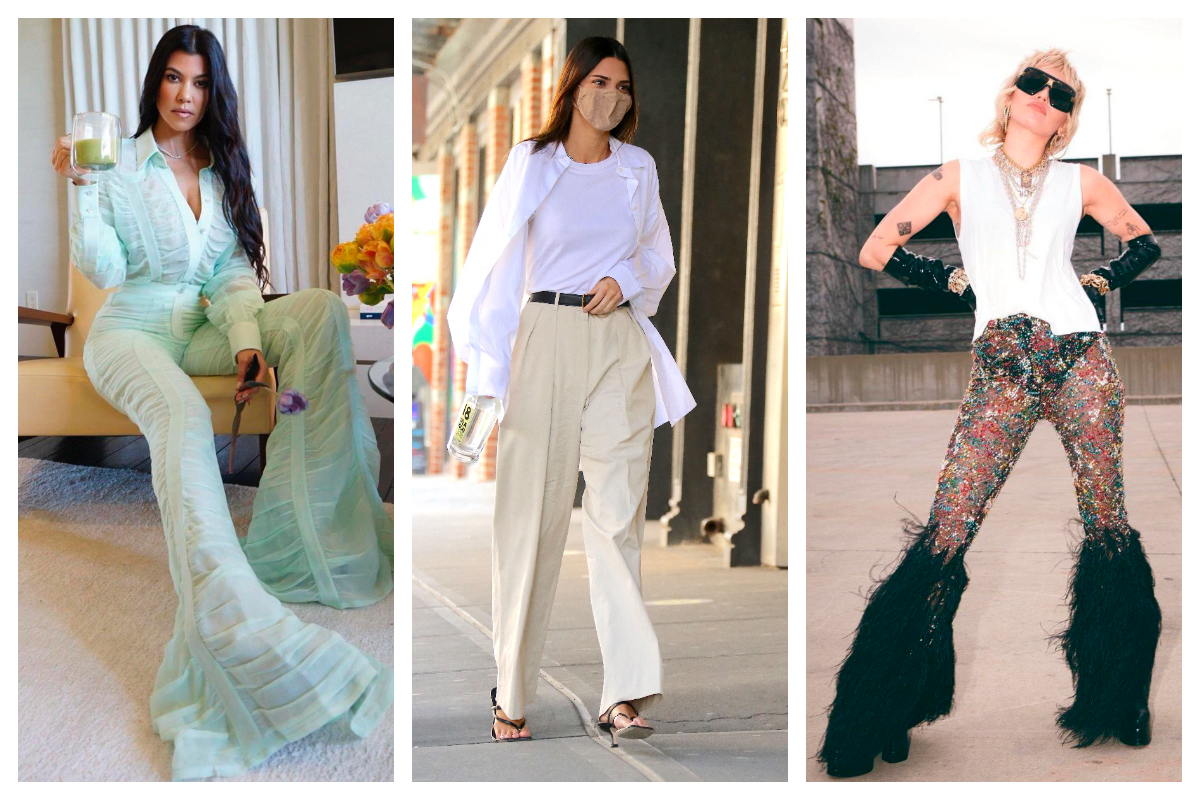 Celebrity trend: Pantaloni-statement în loc de jeanși