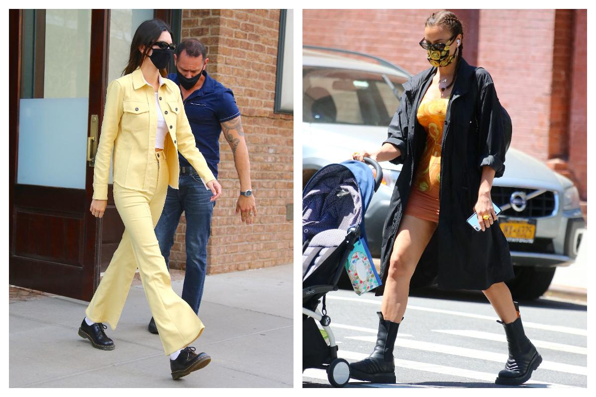 Celebrity trend- Street style de supermodel