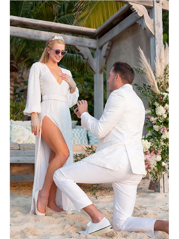 paris hilton nunta