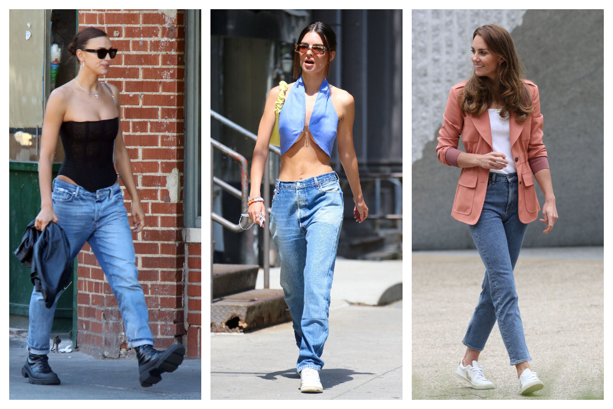 Celebrity trend- Blue jeans all the way!