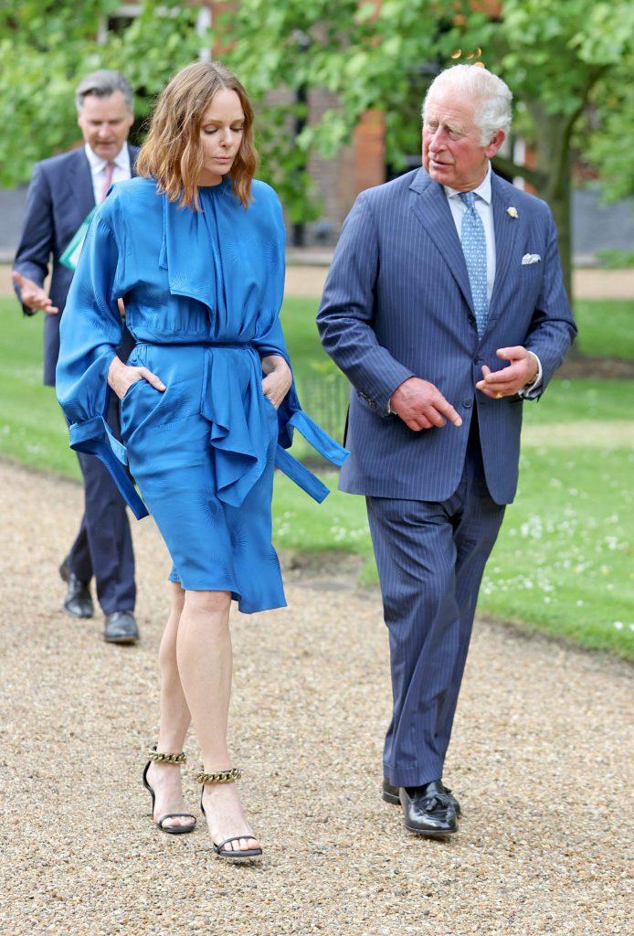 Stella McCartney într-un proiect de sustenabilitate alături de Prințul Charles