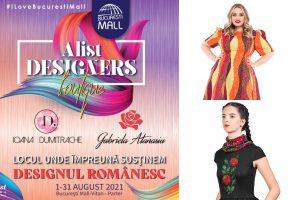 Alist Designers boutique: Cine te așteaptă aici în perioada 1-31 august