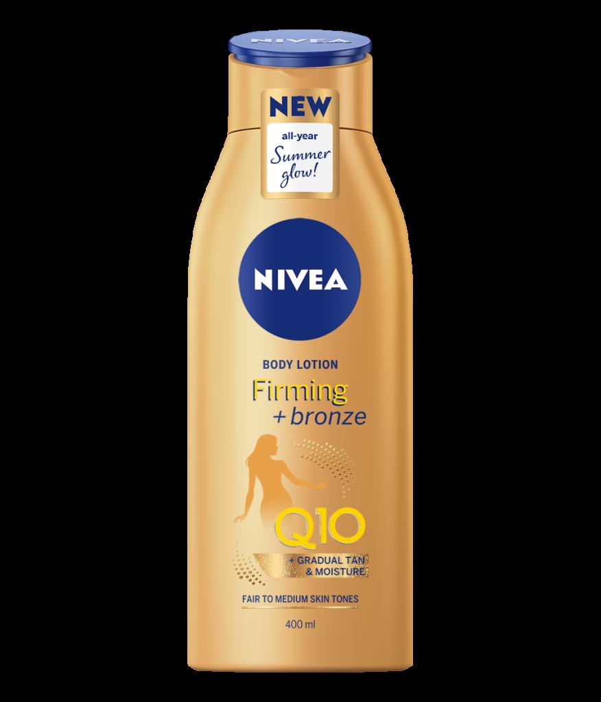 Crema de corp pentru strălucire Loțiunea de corp Nivea Q10