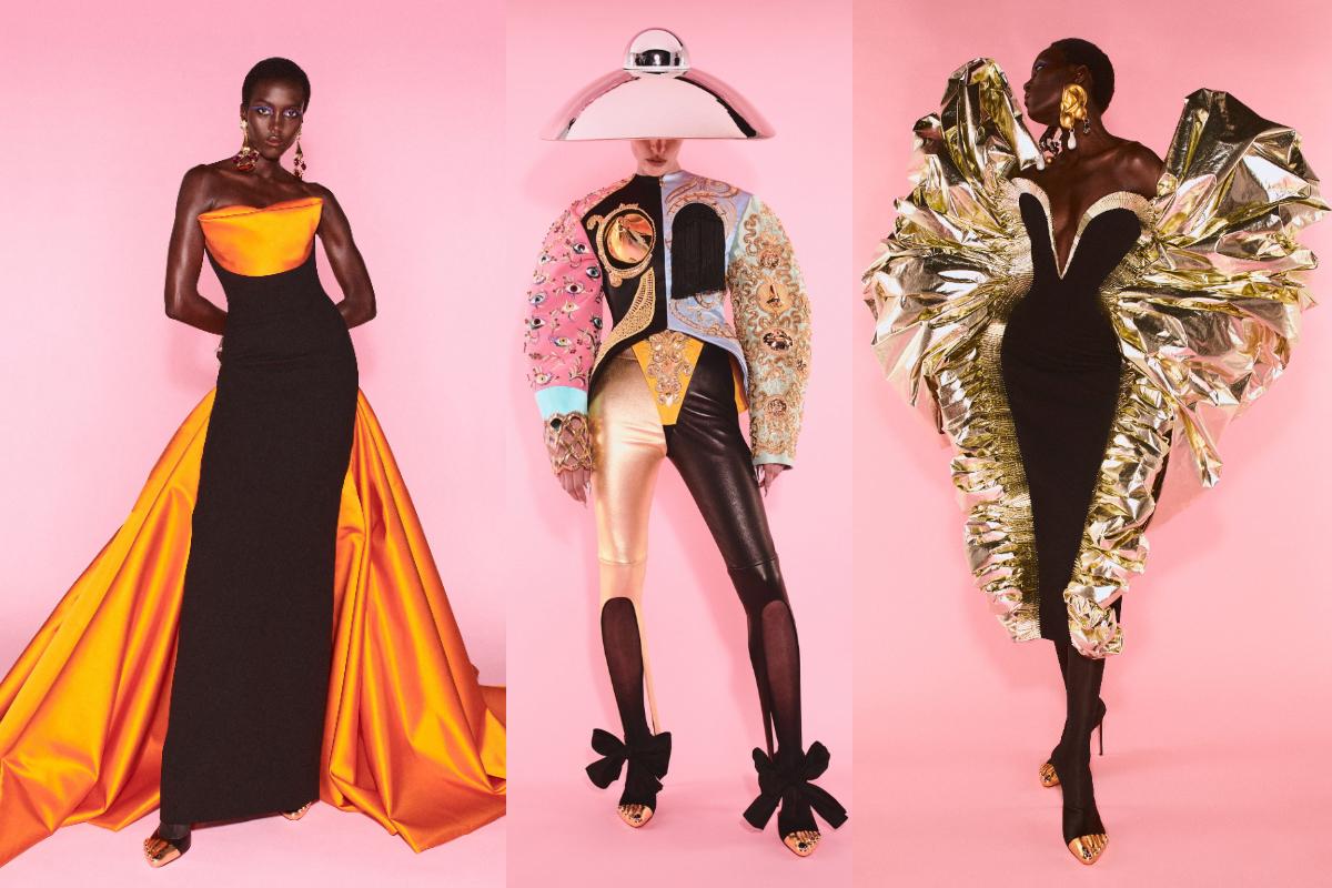 Schiaparelli Haute Couture FW21:22- O colecție ca o expoziție de sculptură