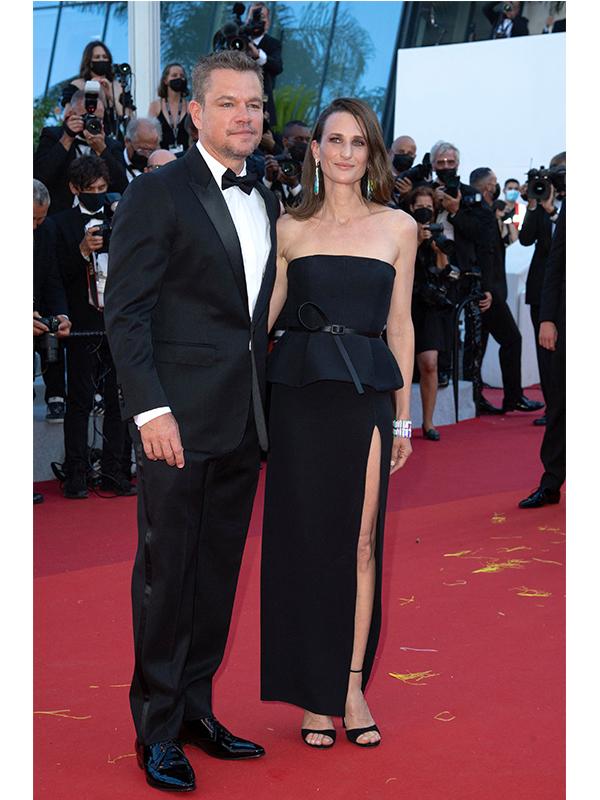 Matt Damon și Camille Cottin