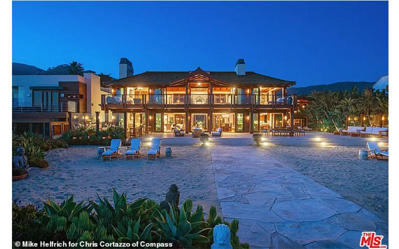 Casa din Malibu a lui Pierce Brosnan