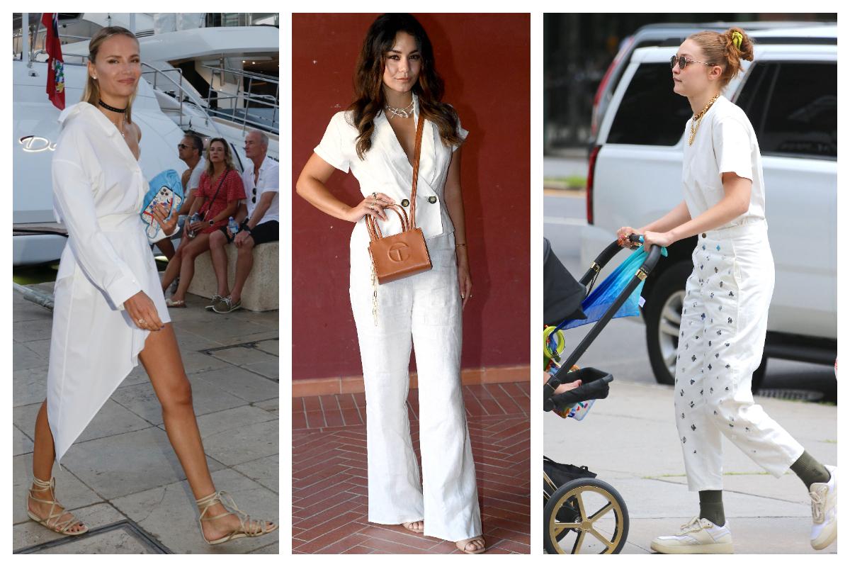 Celebrity trend- All white - cea mai îndrăgită tendință a verii