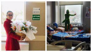 """Alexandra Râureanu: """"Copiii din spitale sunt tot anul supereroi"""""""