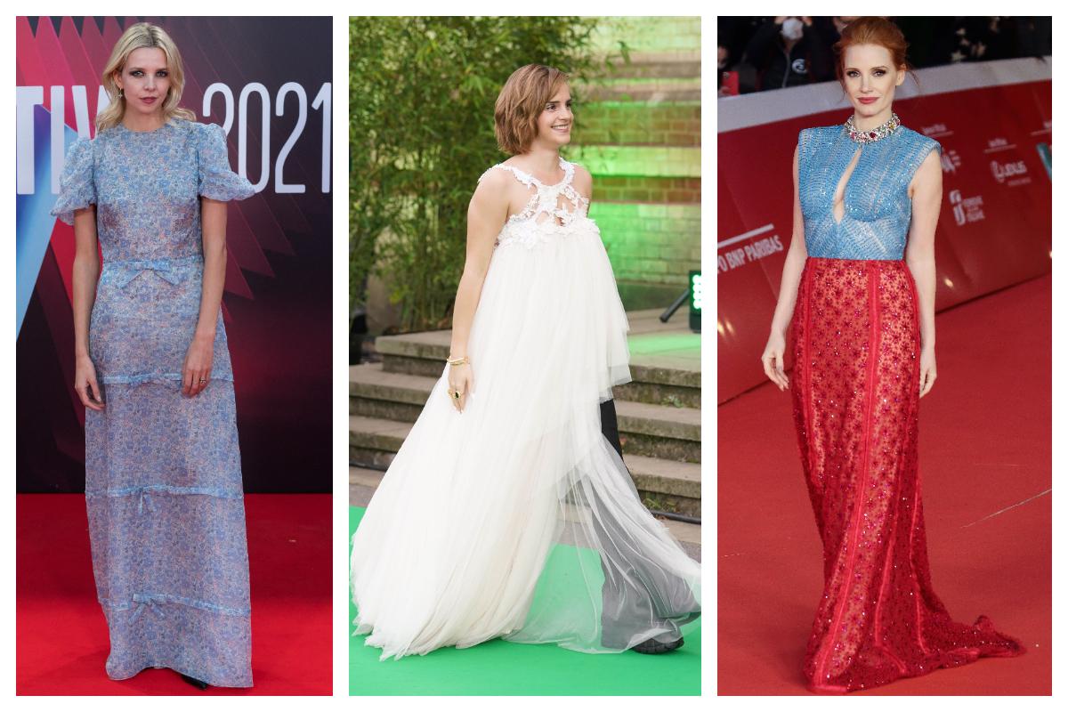 Red Carpet- Ținute de gală pentru premierele de film din weekend