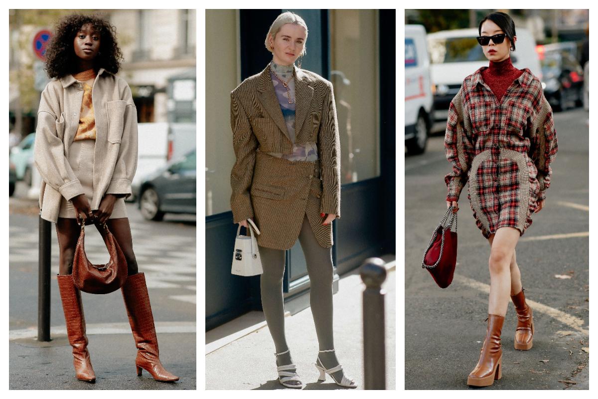 Street Style inspiration- Outfituri în cromatica toamnei
